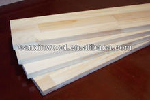 finger jointed trim wood board