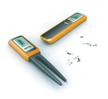 Pen type Tweezers Digital Capacitance Multimeter Meter R / C SMD