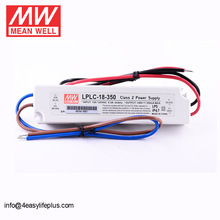 Meanwell Constant Current 350mA 24V 18W LED Driver LPLC-18-350 IP67 Out Door Power Supply