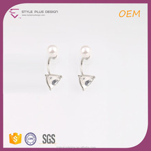 E78052K01 Pierced 2016 Crystal Stud Earring Platinum Plus Pearl Glass Stones Earrings Holder From Pearl Updated Collection