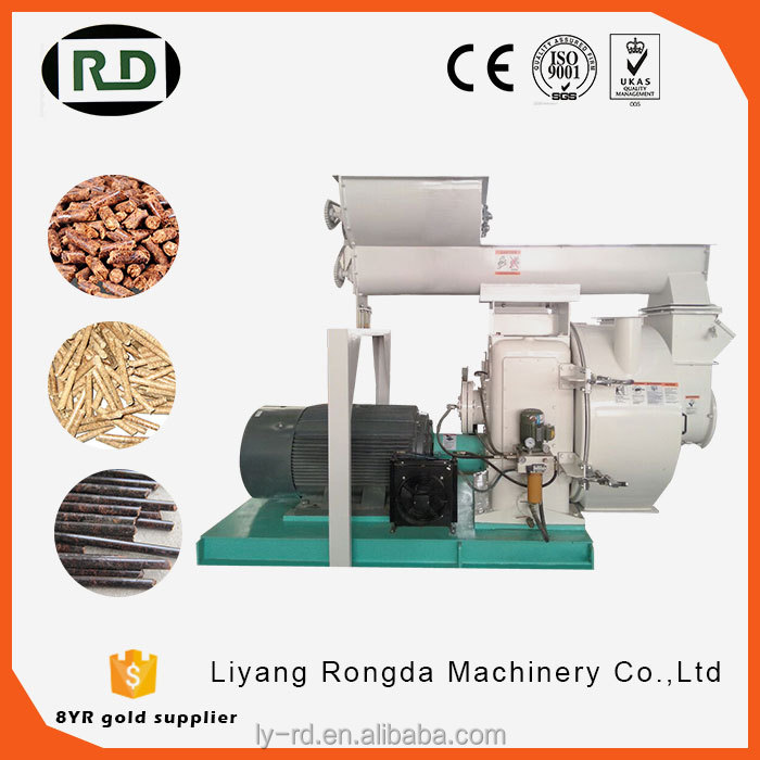 CE certificated biomass wood pellet mill bio pellet press mill waste to energy processing machine