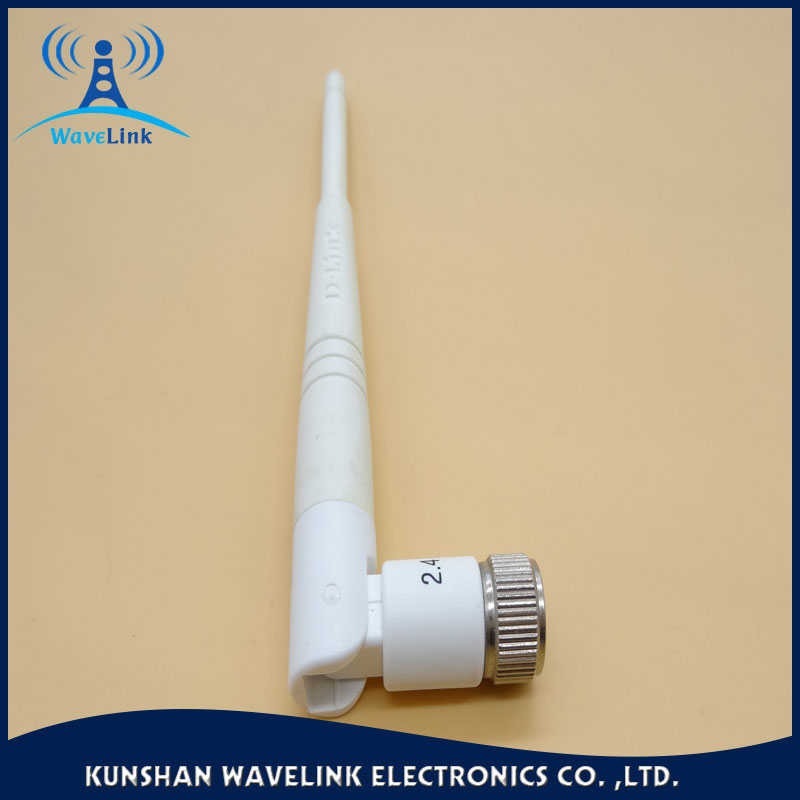 outdoor rubber right angle 2km wifi antenna booster 3dbi