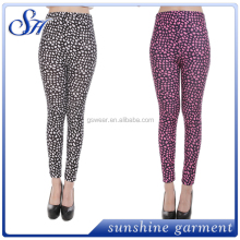 Wholesale Europe And America New Digital Printing Star Pattern Sexy Tight Milk Silk Leggings