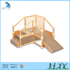 Professional manufacturer kids Care center wood playground equipment outdoor