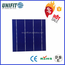 156x156 gaas solar cell with polycrystalline silicon solar cell price in wuxi