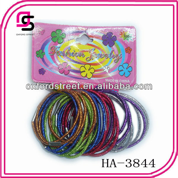 2.5mm glitter Hair elastic tie