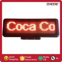 Manufacture Big Supply red outdoor led display / indoor led scrolling text display screen