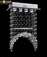 Modern Contemporary Full Lead Crystal Chandelier Lamps Lights Lighting Fixture CZ8011/4