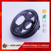 5inch LED headlight motorcycle headlight Hi 40W low 30W with blue eye car led daytime running light CE RHOS certification