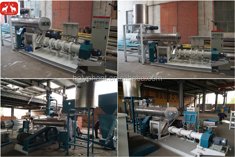 factory price floating fish feed pellet machine fish feed machine