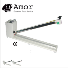 Super quality extra large hand type sealing machine with cutter for hospital use