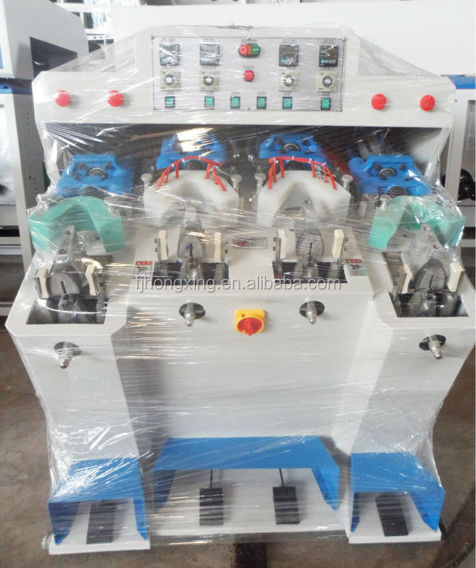 Shoe Counter Moulding Machine With Two Coolers and Heaters