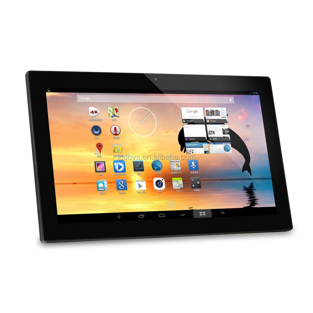 Capacitive touch screen android all in one pc with RK3188 or RK3288 cpu