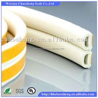 Soft Foam Rubber Glass Shower Door Seal Strip