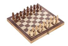 Wooden Chess Set Pieces Wood with Board Storage Box Christmas Gift Kids Toy International Chess