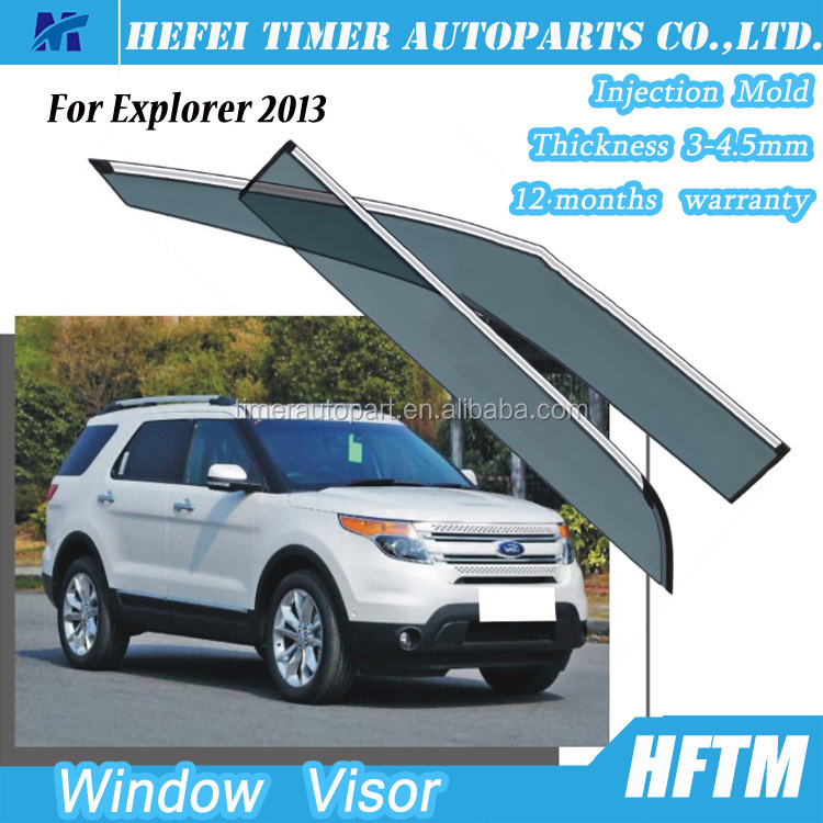car visor 12 months warranty 2016 new gadgets Window visor for Explorer 2013