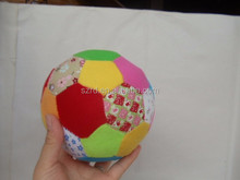 baby football plush toy/china ball for baby/small ball stuffed animals
