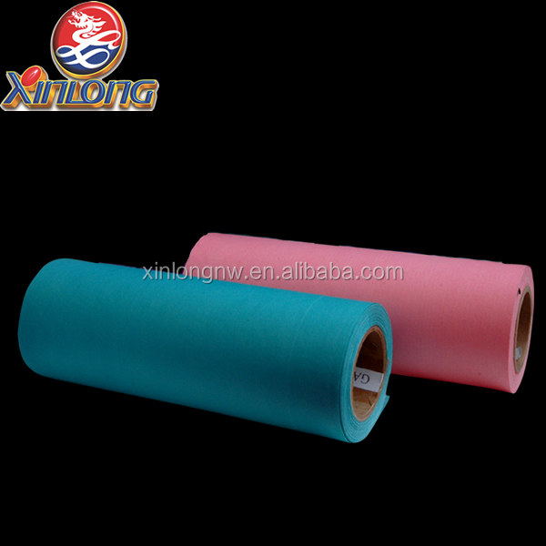[XINLONG]cleaning spunlace cloths / embossed spunlace wipe cloth