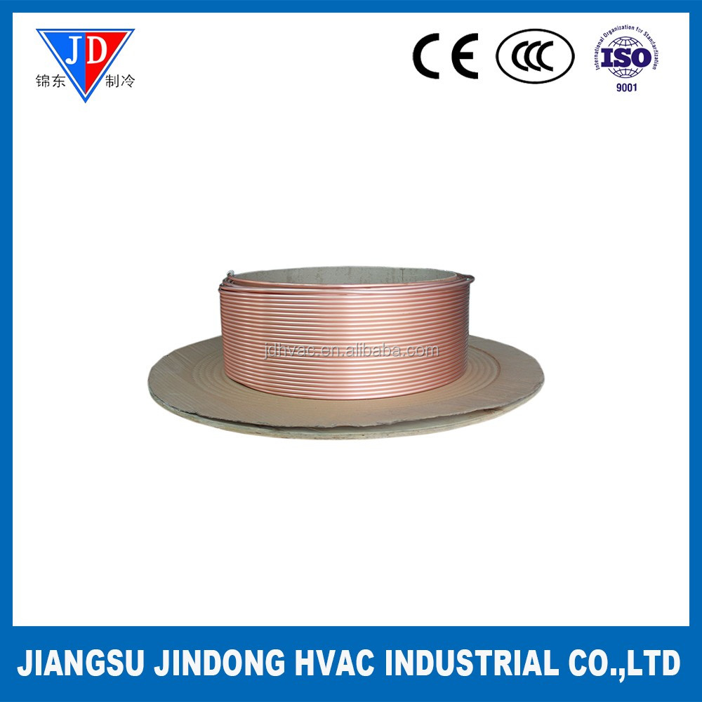 Soft Condition Copper Coil Pipe for Air Conditioner and Refrigeration