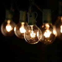 Good Quality 25 Pcs G40 Incandescent Bulbs 25 Feet Globe String Lights Outdoor