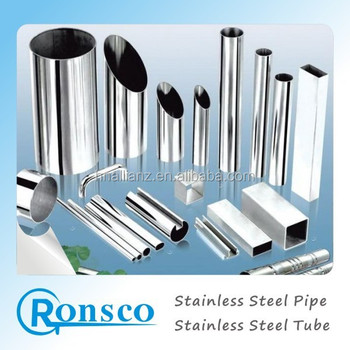 AISI 201stainless rectangle unit weight steel pipe,304 stainless steel pipe weight