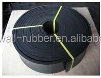 50mm 100mm 150mm 200mm width black red green skirtboard rubber sheet strip with conveyor belt abrasion rubber pulley lagging rub