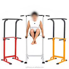 Functional trainning free standing pull up bar chin up dip station