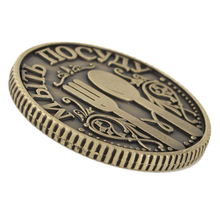 Factory metal decorative logo coins