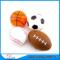 Promotional Activities Custom Logo Oem Available Pu Antistress Ball