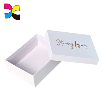 Custom OEM printed paper printed gift box for jewellery