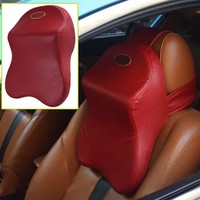 Old people car neck seat pillow