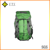 green grey solar bags backpack for phone ipad outdoor use