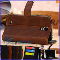 Leather protector case for samsung galaxy s4 i9500