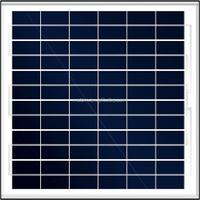 The lowest price poly solar panel made in China
