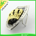 Tiara Design zinc Alloy buckle with Rhinestone Buckle