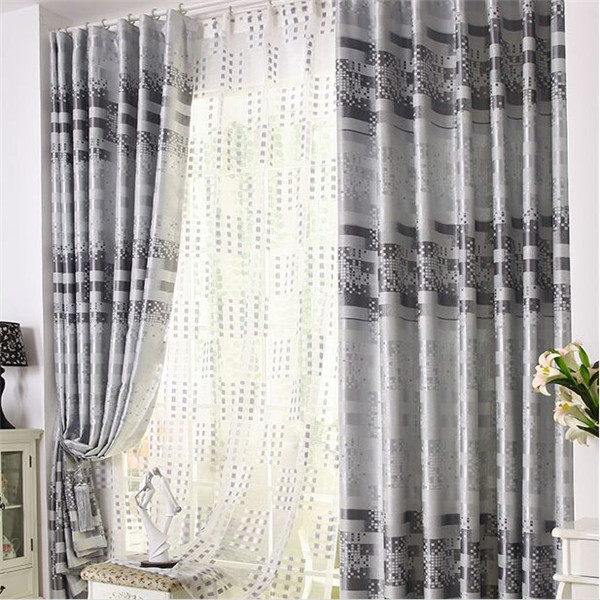 Hotel style blackout fabric chenille luxury window curtain