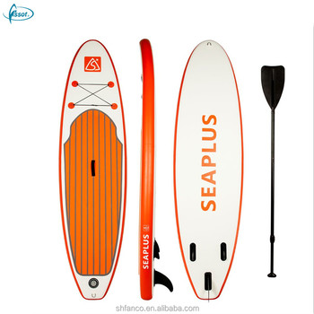 "Fissot new release 10'6"" drop stitch inflatable surfing paddle board"