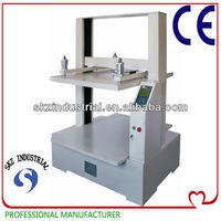 Digital corrugated compressive strength testing machine