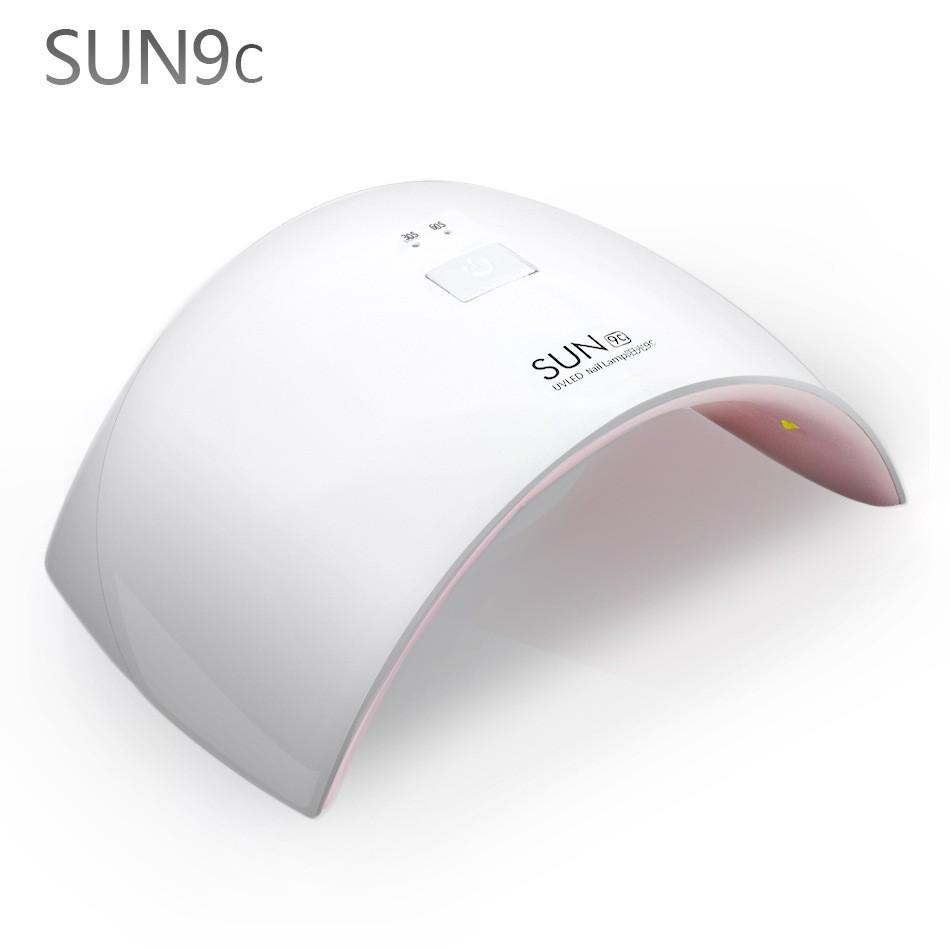 Uv nail sèche-polonais pour Gel Polish Professionnel Sun9s 9c 24 W Rapide Durcissement lampe