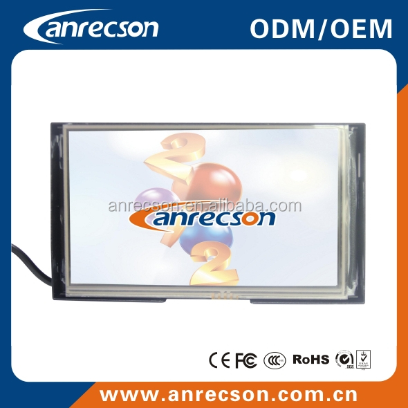 lcd touch screen monitors 7 inch, 7 inch 800x480 capacitive touch screen