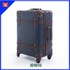 carry on pu leather travel luggage trolley bags OEM