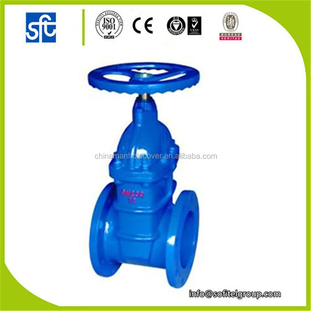 fire protection gate valve, ductile iron gate valve din3352