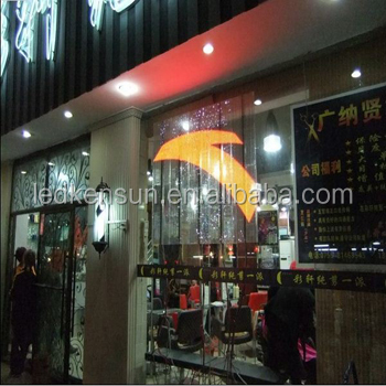 P10 transparent led window screen advertising wall led glass display/sign