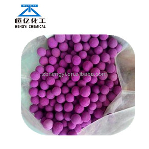 Purple KMnO4 ball Activated Alumina with potassium permanganate