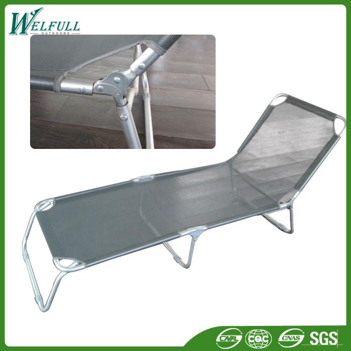 mobili da esterno in metallo pieghevole sedie a sdraio ...