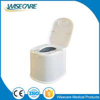 Home care products! 2016 new design plastic mobile commode commode chair for elderly