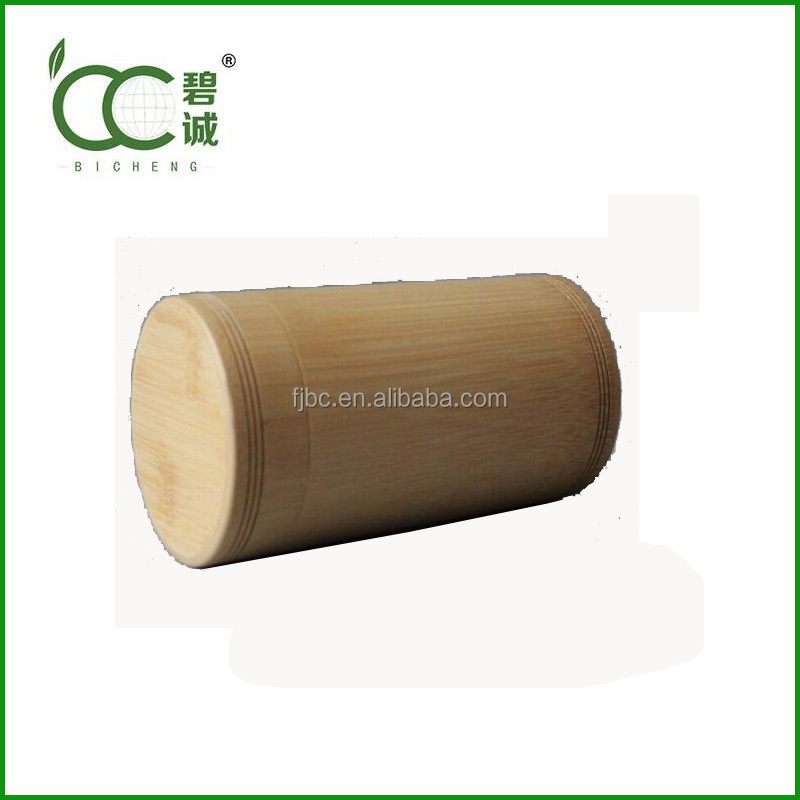 Bamboo Cheap Tea Canister