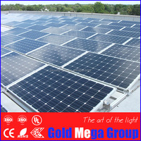 20 year warranty high capacity 270 watt sunpower photovoltaics monocrystalline silicon solar panels solar cell module