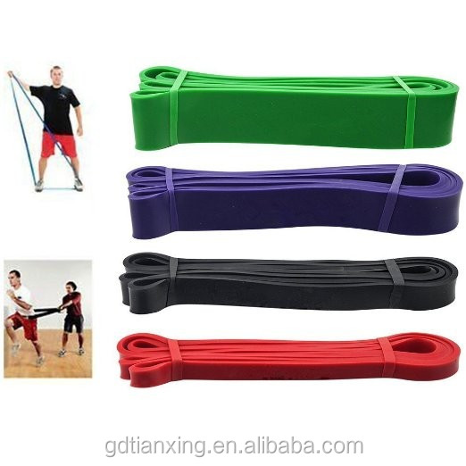 Natural Latex resistance Stretch band/Rubber band/Yoga band