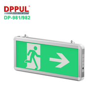 2019 Newest Rechargeable LED Exit Sign DP981/982